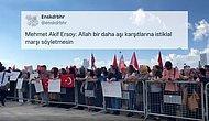 Aşı Karşıtlarının İstiklal Marşını Bir Garip Okuması Sosyal Medyanın Gündeminde