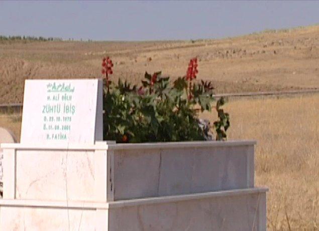 Zühtü İbiş, köyü Sarıyaprak'a defnedildi.