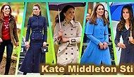 Bu Sonbahar Yanınızdan Ayırmak İstemeyeceğiniz Kate Middleton Tarzı Ceket ve Trençkotlar
