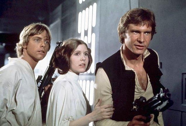 7. Harrison Ford / Yıldız Savaşları: Jedi'nin Dönüşü (1983)