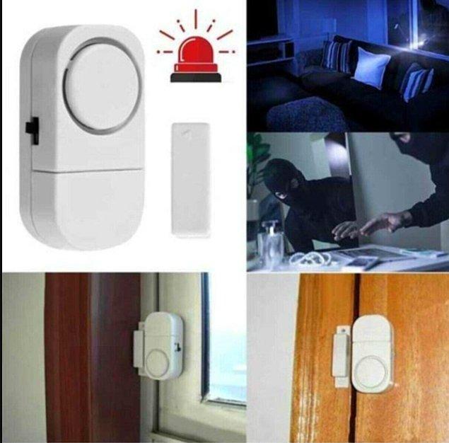 4. Eğer evinizin kapı veya pencereleri kolayca ulaşılabilir bir alandaysa alarmlardan mutlaka edinmelisiniz.