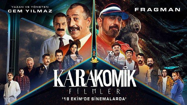 Daha sonra Karakomik Filmler isimli yapımda Cem Yılmaz ile birlikte başrolde yer aldı.