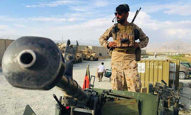 'Bunu ancak Afgan hükümeti ve halkı yapabilirdi'