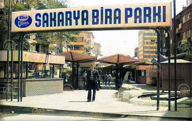 5. Sakarya bira parkı, Ankara, 1978.