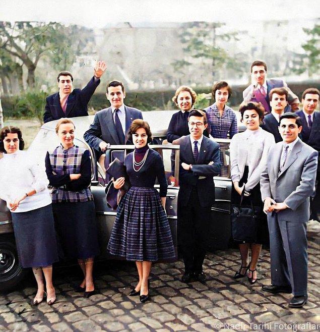 9. Üniversite öğrencileri, Ankara, 1959.