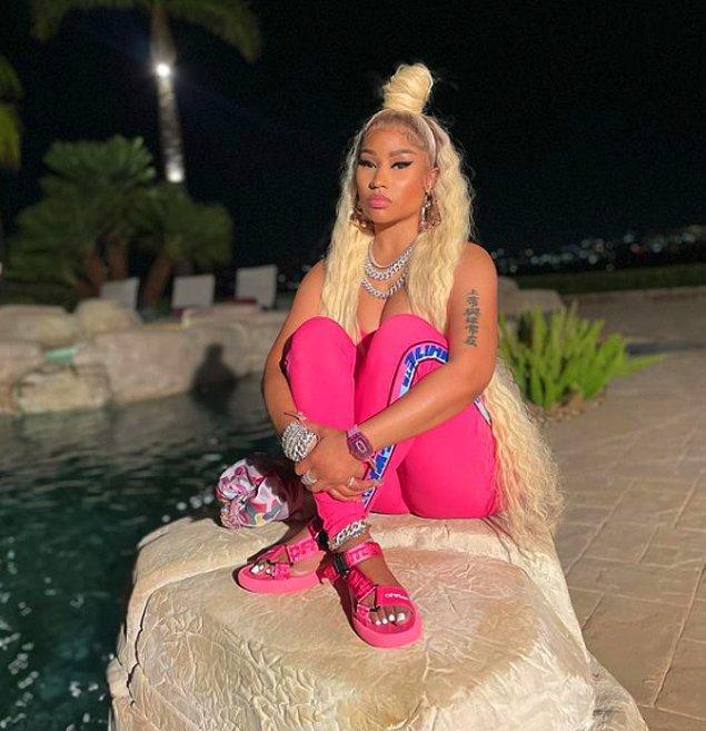 38 yaşındaki ünlü rapçi Nicki Minaj'ı tanımayanınız yoktur.