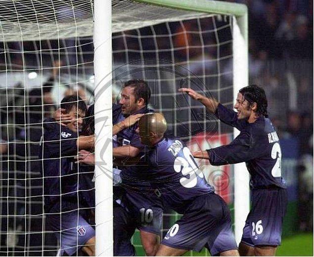 9. 4 Kasım 2003 / Beşiktaş 1:0 Sparta Prag