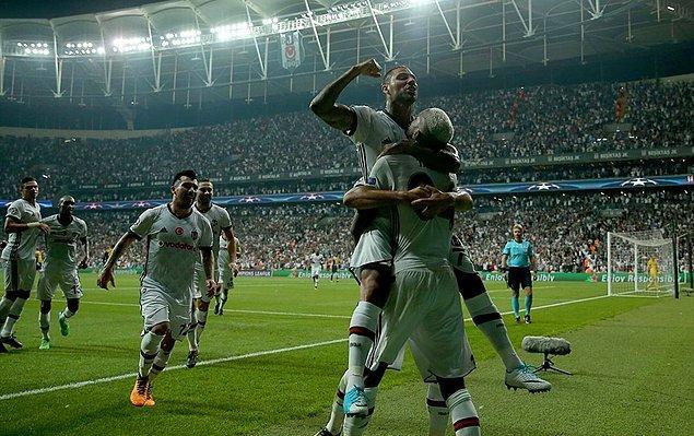 3. 26 Eylül 2017 / Beşiktaş 2:0 RB Leipzig