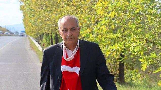 """""""Evime dönmek için Ankara'dan İstanbul'a yürüyorum"""""""