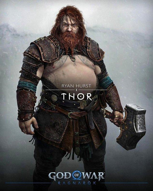 Öncelikle çok tartışılan o Thor'a bir göz atalım.