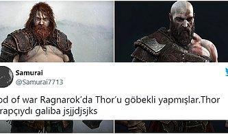 Göbekli Thor Ortalığı Yıktı! God of War'ın Tombiş Thor'una Söyleyecek Bir Çift Lafı Olan Oyuncular