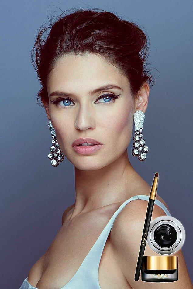 9. Daha profesyonel makyaj yapanların tercihi de jel eyelinerlar.