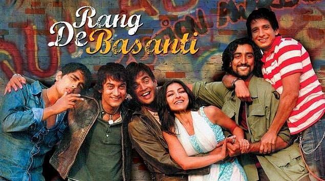 6. Rang De Basanti (Onu Sarıya Boya) - IMDb: 8.1