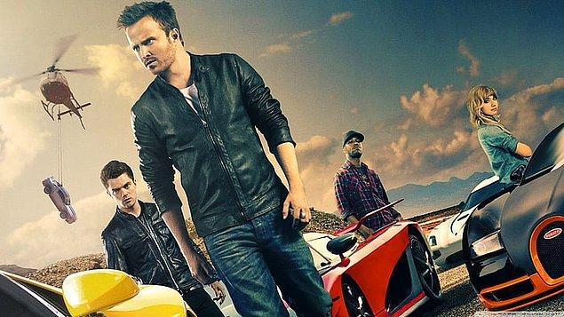 14. Need For Speed (Hız Tutkusu) - IMDb: 6.4