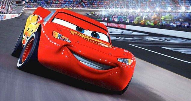 10. Cars (Arabalar) - IMDb: 7.1