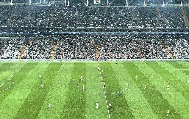 UEFA Şampiyonlar Ligi C Grubu'nda temsilcimiz Beşiktaş, sahasında Borussia Dortmund'u ağırladı.
