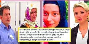 Esra Erol'un Programda Evlerindeki Zorbalıktan Kaçan Zor Durumdaki Kadınlara Davranış Şekli Tartışma Başlattı