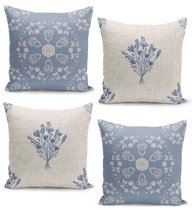 12. Evinize çok yakışacak bu yastıkları da kullanabilirsiniz.