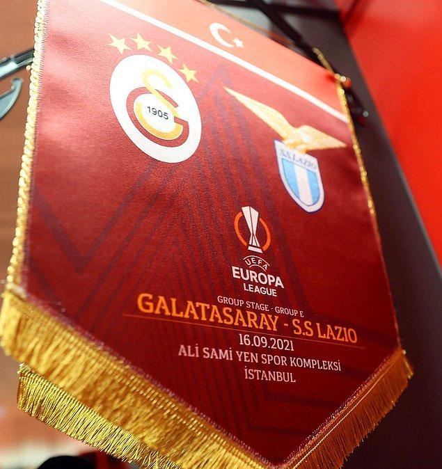 Galatasaray, Avrupa Ligi E Grubu'ndaki ilk maçında Lazio'yu konuk etti.