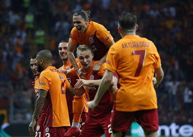 Bu sonuçla Galatasaray grubunda ilk haftayı lider tamamlamış oldu