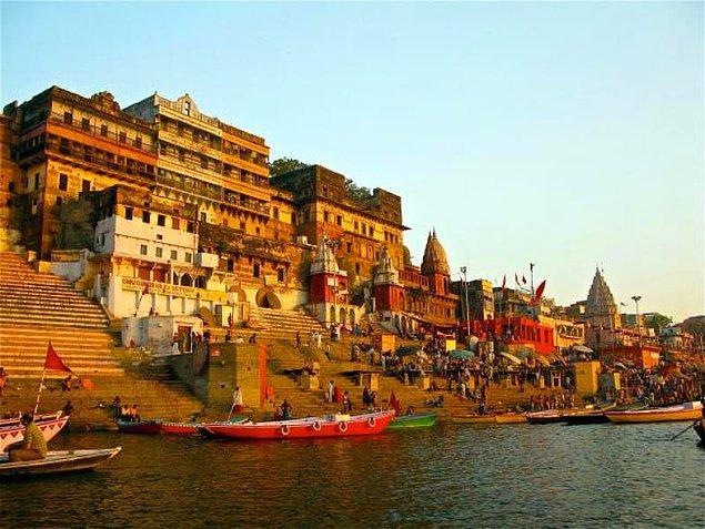 20. Varanasi - Hindistan (M.Ö. 1000)
