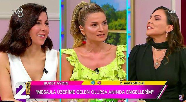 TV8'de yayınlanan Müge ve Gülşen'le 2. Sayfa programına konuk olan Aydın, daha önce uğradığı bir ihaneti de tüm detaylarıyla tek tek anlattı.