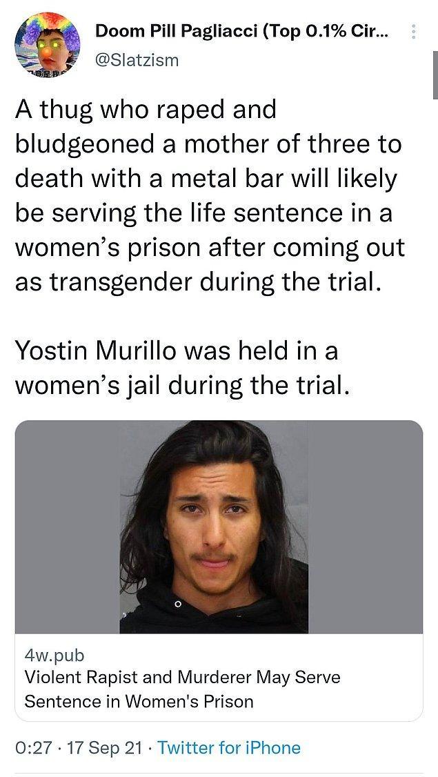 Üç çocuk annesi bir kadına demir bir çocukla öldüresiye tecavüz eden ve dişlerini döken bir diğer suçlu da mahkemede kadın olduğunu beyan etmişti.
