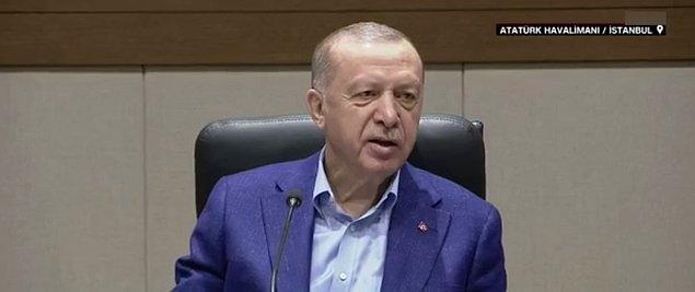 Cumhurbaşkanı Erdoğan'ın konuşmasından satır başları: