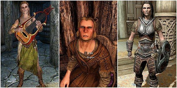 The Elder Scrolls V: Skyrim'de NPC'leri Bir Adım Öteye Taşıyacak 10 Mod