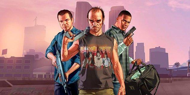 12. Grand Theft Auto V - 68-76 GB