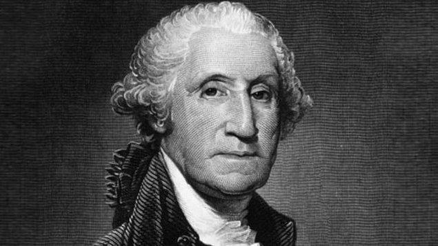 16. George Washington, hiç peruk takmamıştır ve kızıl gür saçlarını modaya uygun göstermek için pudralıyordu.