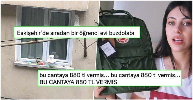 880 Liralık Sırt Çantasından Eskişehir'deki Öğrenci Buzdolabına Twitter'da Son 24 Saatin Viral Olan Tweetleri