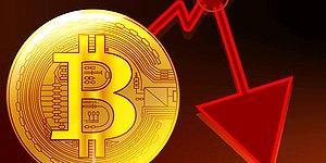 Yine Ne Oldu Acaba? Bitcoin'den Bir Sert Düşüş Daha Geldi!