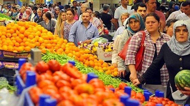 Arınç, gıda fiyatlarında yaşanan artışa da değindiği konuşmasında şunları kaydetti:
