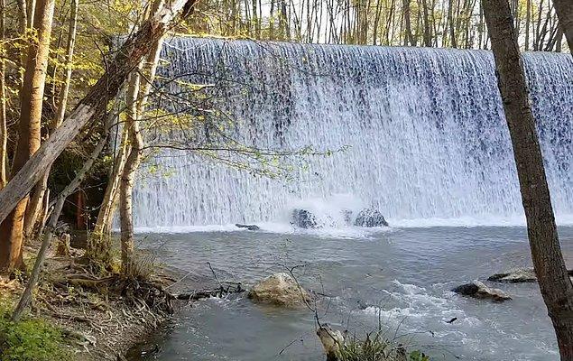 4. Gizli bir cennet olan Hacıkara Şelalesi...