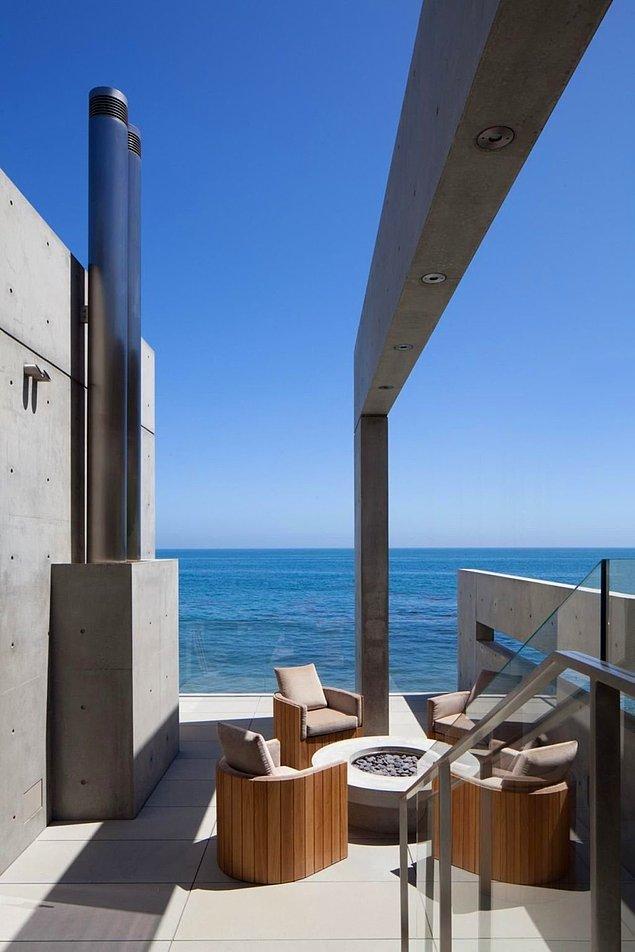 2013 yılında inşa edilen ev, Amerika'da dünyaca ünlü Japon Mimar Tadao Ando tarafından tasarlanan sayılı evden bir tanesi.