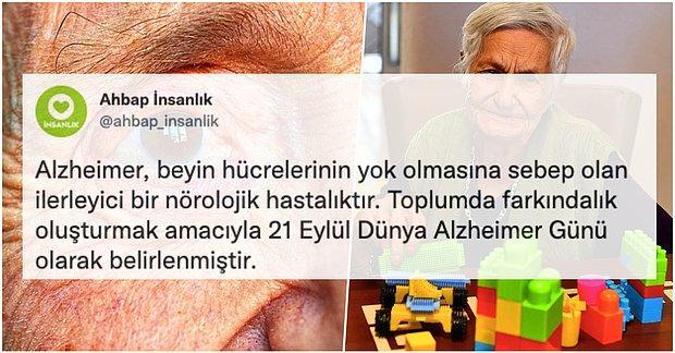 Bugün 21 Eylül Dünya Alzheimer Günü! Peki Bizler Bu Hastalık Hakkında Ne Kadar Farkındalık Sahibiyiz?