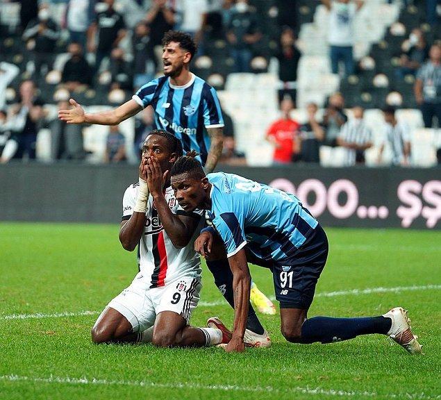 Bu sonuçla Beşiktaş, puanını 14'e yükseltirken; Demirspor, 6 puana ulaştı.