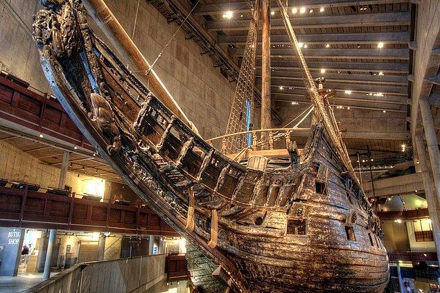 3. Vasa Müzesi, Stockholm