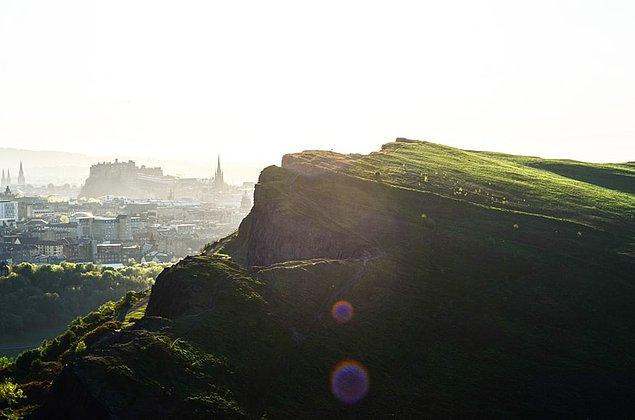4. Arthur's Seat Tepesi, Edinburgh