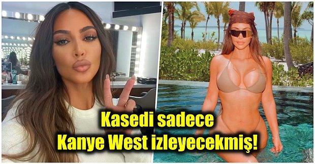 Ortalık Çarşamba Pazarı! Boşanma Davası Devam Eden Kim Kardashian'ın Bir Seks Kasedi Daha mı Var?