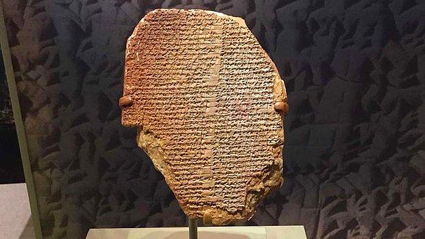 Gılgamış Destanı'na Ait 3 Bin 600 Yıllık Tablet ABD'den Irak'a İade Ediliyor