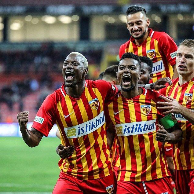 Mame Thiam (2) ve Emrah Başsan'ın golleriyle engel olamayan Fatih Terim yönetimindeki Aslan, sahadan 3-0 mağlup ayrıldı.