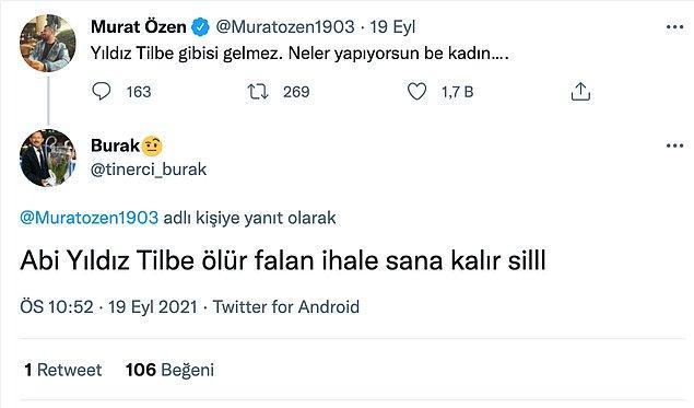 Siz siz olun Murat Özen tarafından övülmeyin.