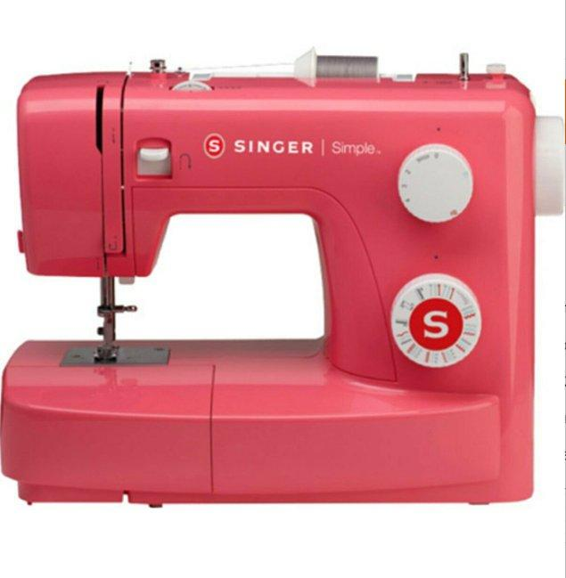 13. Alanında tek: Singer dikiş makinesi!