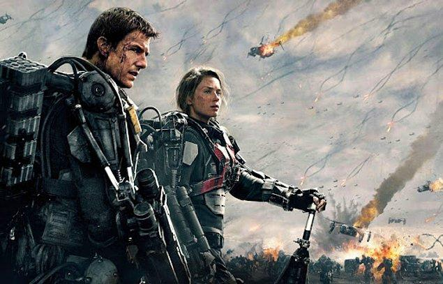 7. Edge of Tomorrow / Yarının Sınırında (2014) - IMDb: 7.9