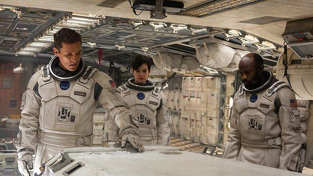 3. Interstellar / Yıldızlararası (2014) - IMDb: 8.6