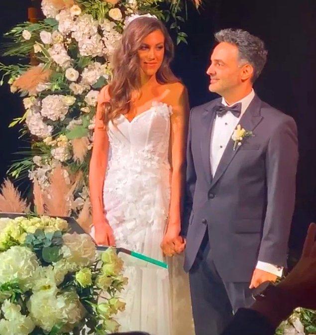6. İnternet camiasının düğünlerine akın ettiği Arda Türkmen ve Melodi Elbirliler dünyaevine girdi.