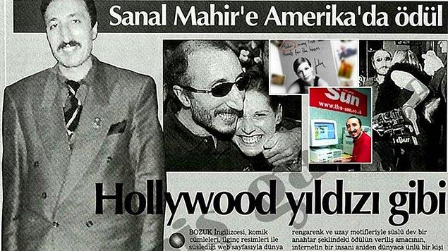1. Yeni nesil hatırlamaz ama dünyadaki ilk sosyal medya fenomeni bir Türk'tü.