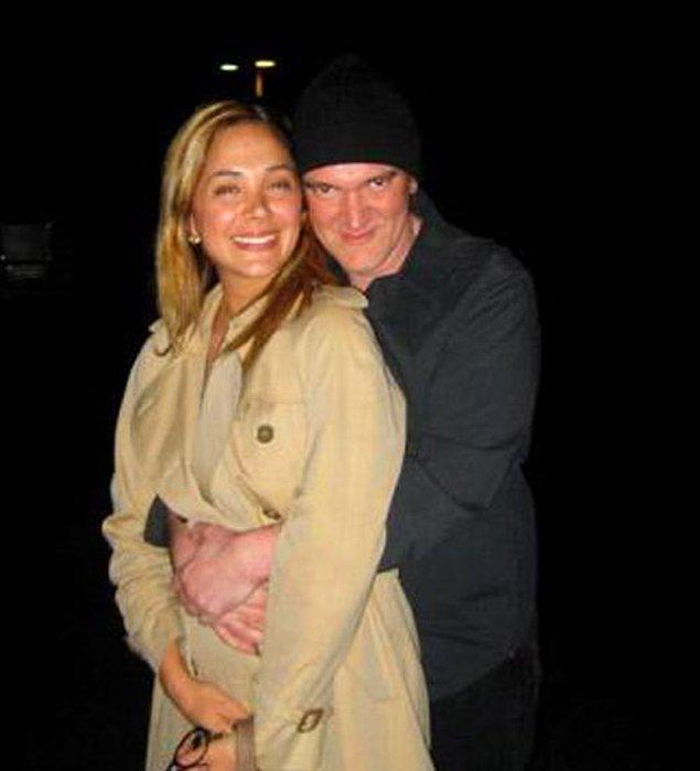 8. Didem Erol ve dünyaca ünlü yönetmen Quentin Tarantino... Bu ilişkiyi hala aşamıyoruz.